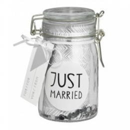 Räder Gift glass Just Married