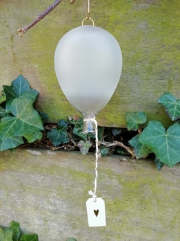 Räder Balloon Heart white