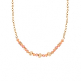 0 662 Biba ketting gold orange