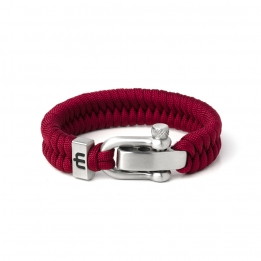 Musthef Classic Burgundy Cord armband M